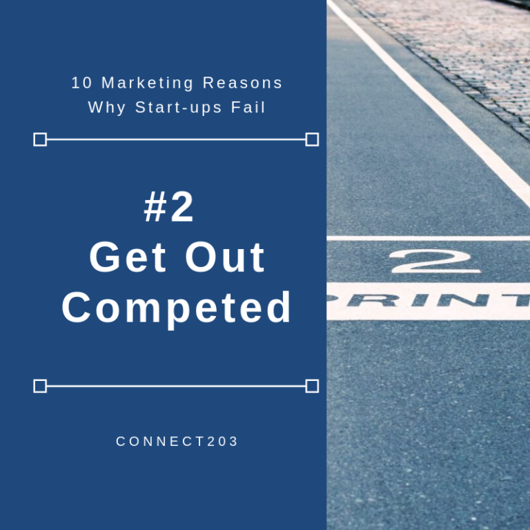 10 Marketing Related Reasons Why Startups Fail #2 Get Outcompeted