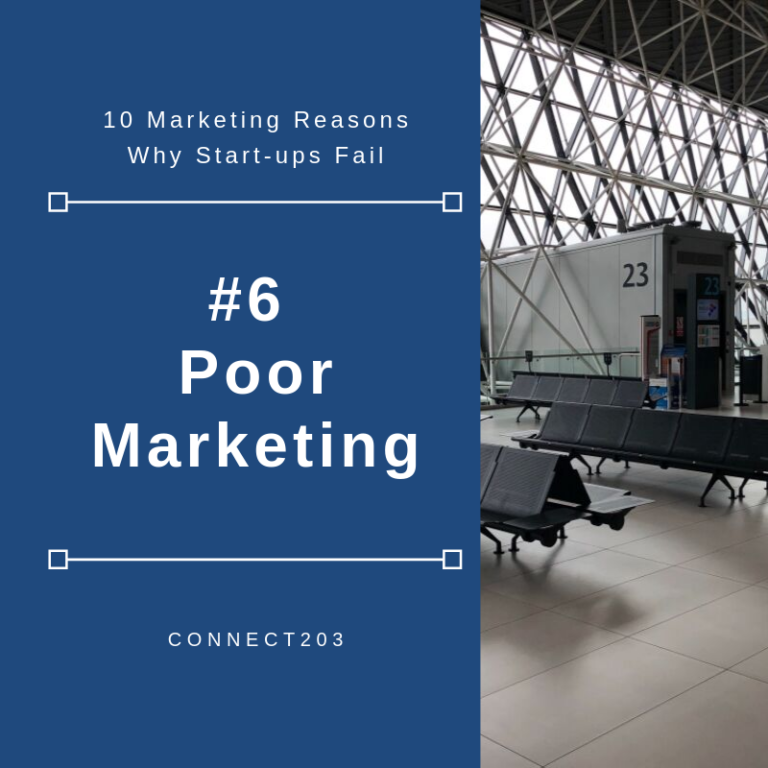 10 Marketing Related Reasons Why Start Ups Fail #6 Poor Marketing