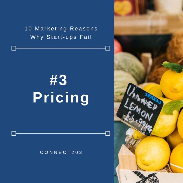 10 Marketing Related Reasons Why Startups Fail #3 Pricing