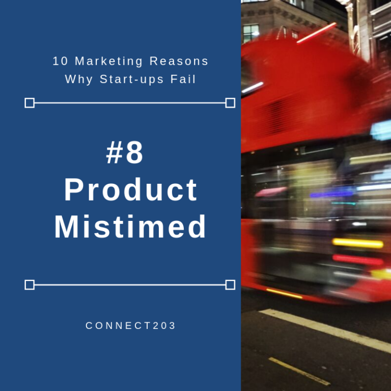 10 Marketing Related Reasons Why Startups Fail​ #8 Product Mistimed